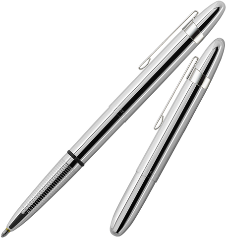 A400CL - Classic Bullet Pen in Chrome with clip