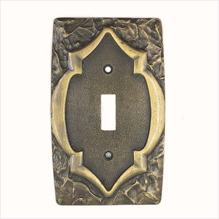 Amerock Monetery 1970s Single Switch Plate (2)