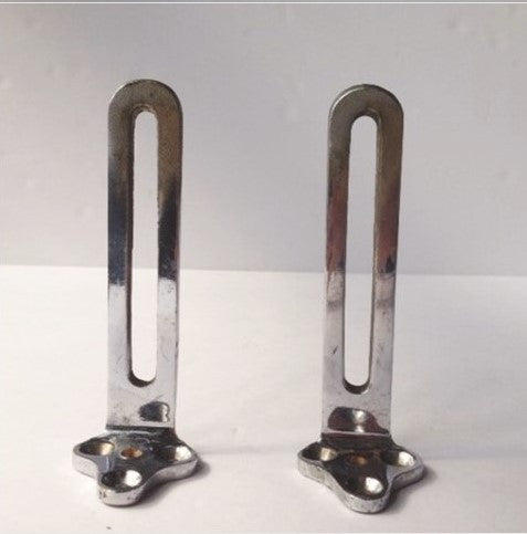 Nickel Antique Sink Mounting Brackets (2)
