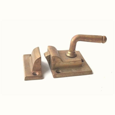 Craftsman Brass Window Latch (5 available)