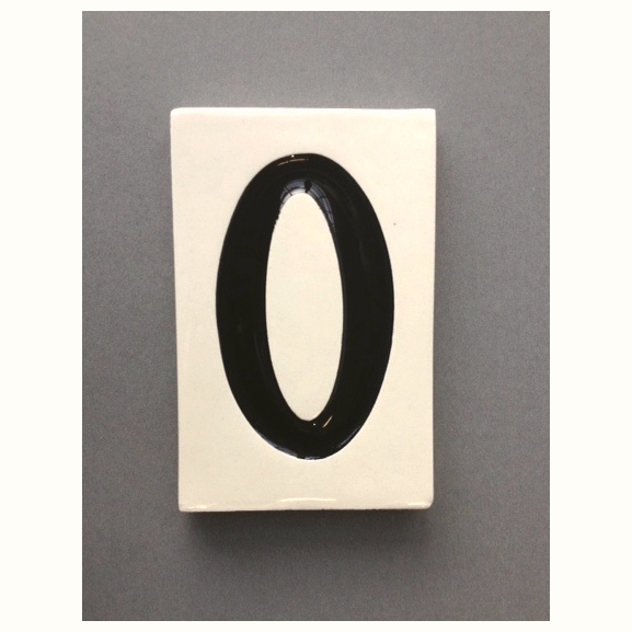 Ceramic Tile Portland House Numbers