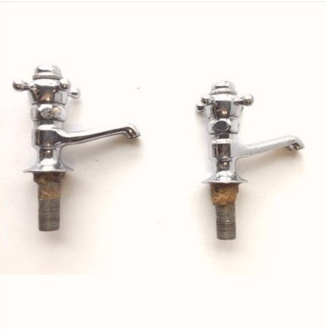 Crane Commercial Hot/Cold Faucets Separate Taps