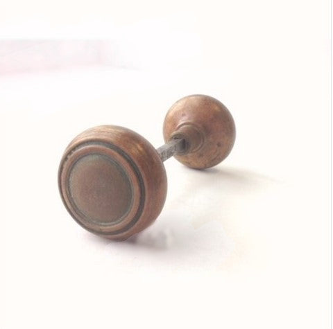 Heavy Deco Doorknobs (set of 2)