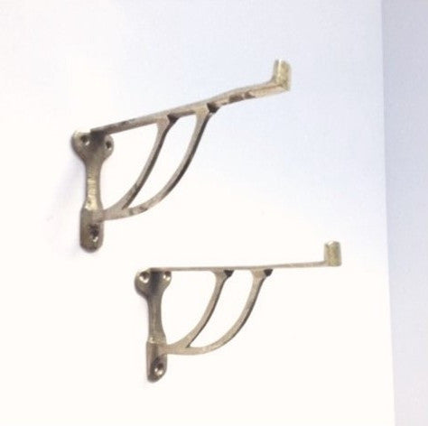 Gorgeous Art Nouveau Shelf Brackets