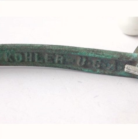 Antique Kohler Porcelain Toilet Flush Handle