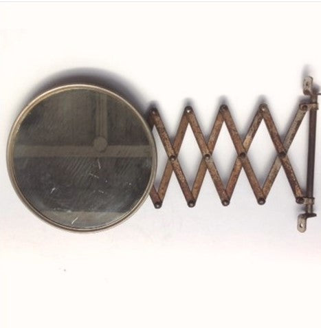 Antique Extendable Bathroom Mirror. All tagged  accessories    Hippo Hardware   Trading Company