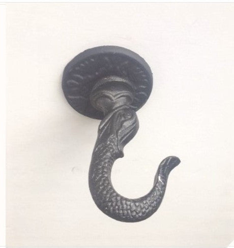 Fish Reproduction Iron Ceiling Hook