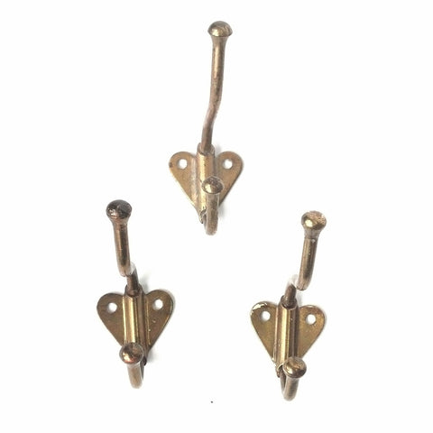 Set of Three Heart Hooks