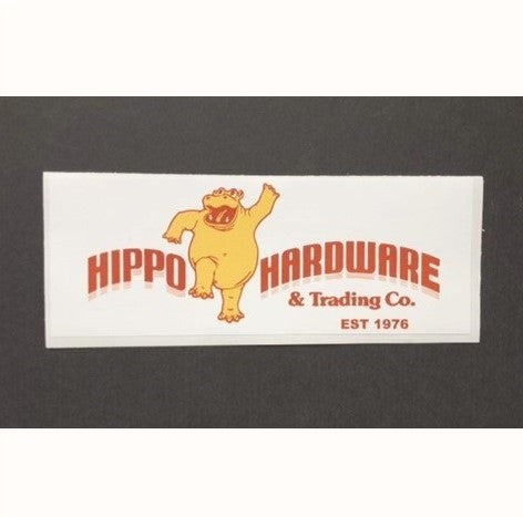 Our Stuff - Hippo Hardware Stickers