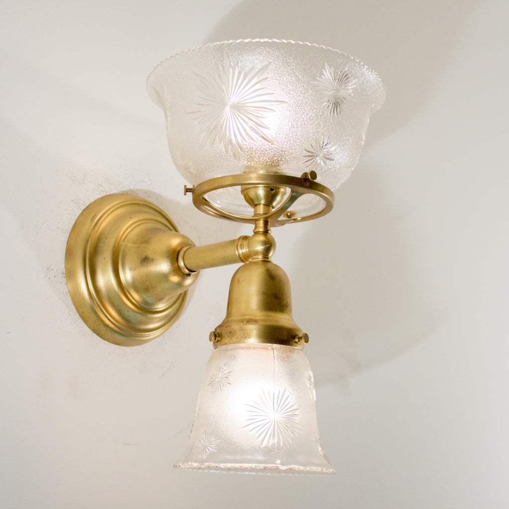 Reproduction Gas/Electric Wall Sconce