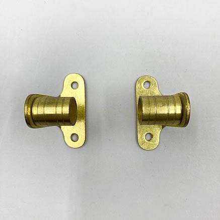 Cafe Curtain Brass Rod Harware Ends