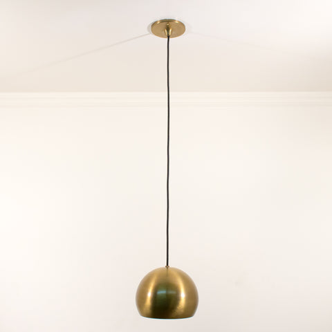 Brass Sphere Pendant Schoolhouse Electric Light