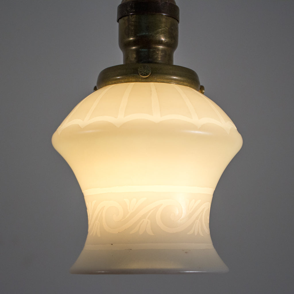 1930s Organic Pendant Light