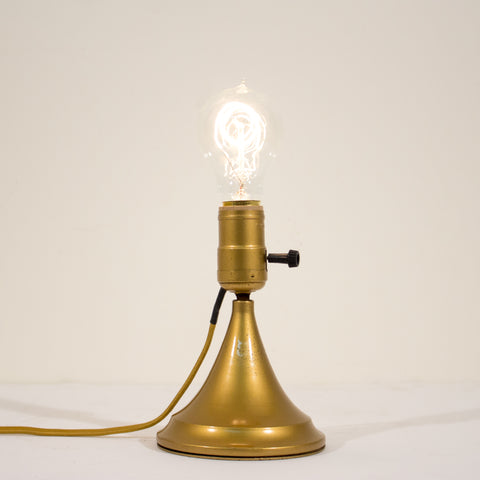 BUSSMAN Wall or Table Antique Brass Lamp