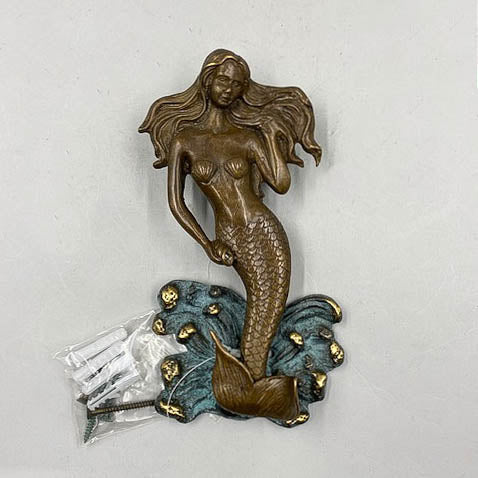 Mermaid Brass Door Knocker