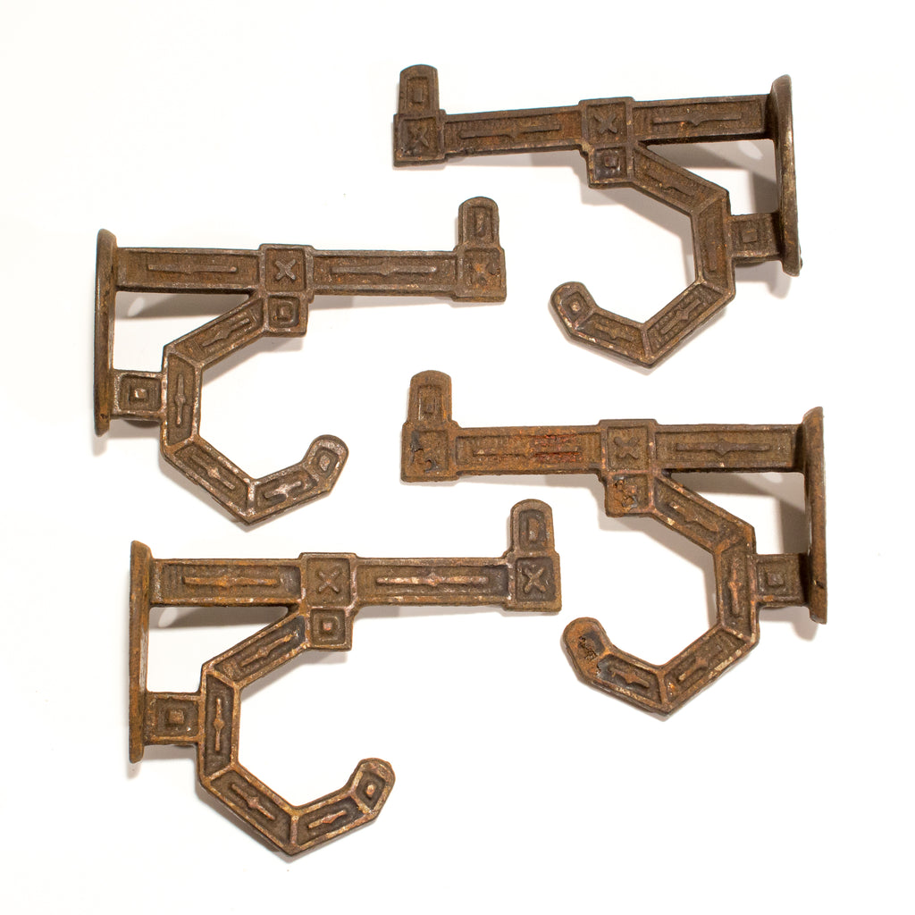Aesthetic Victorian Coat Hooks - Set of 4