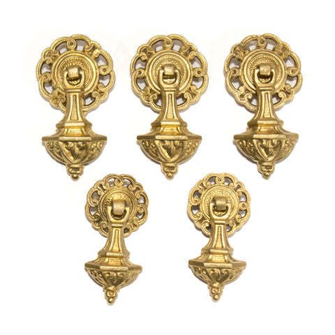 1920s Colonial Drop Pulls (2 sizes)