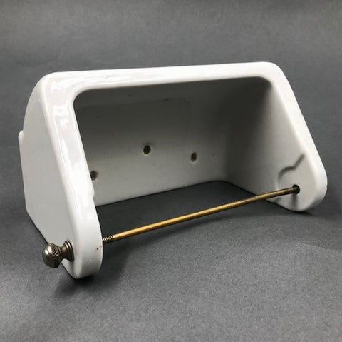 Porcelain Ceramic Toilet Paper holder