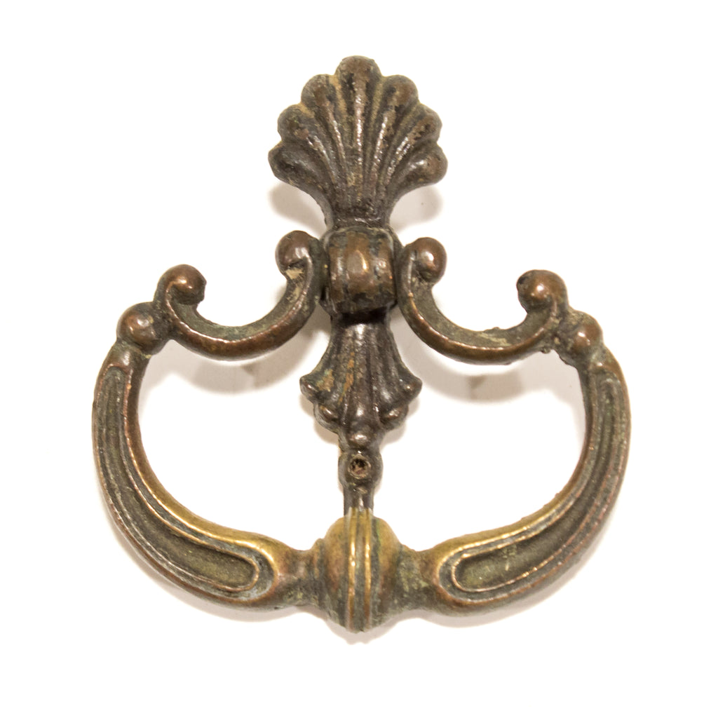 1920s Colonial Brass Ring Pulls (2)