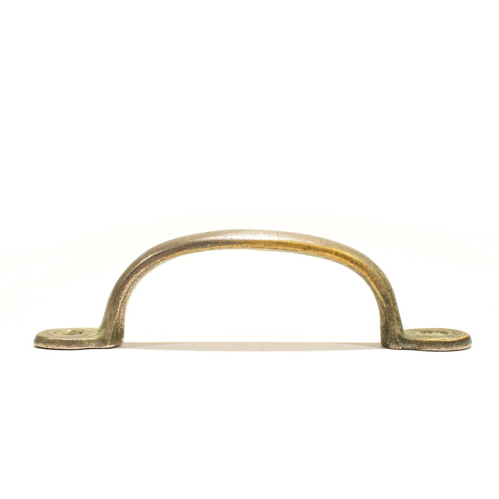 Industrial Nickel Bathroom Stall Pull Handle