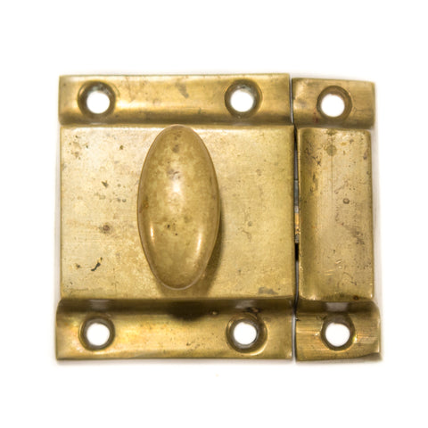 1920s Mission Cast Bronze Cupboard Latch