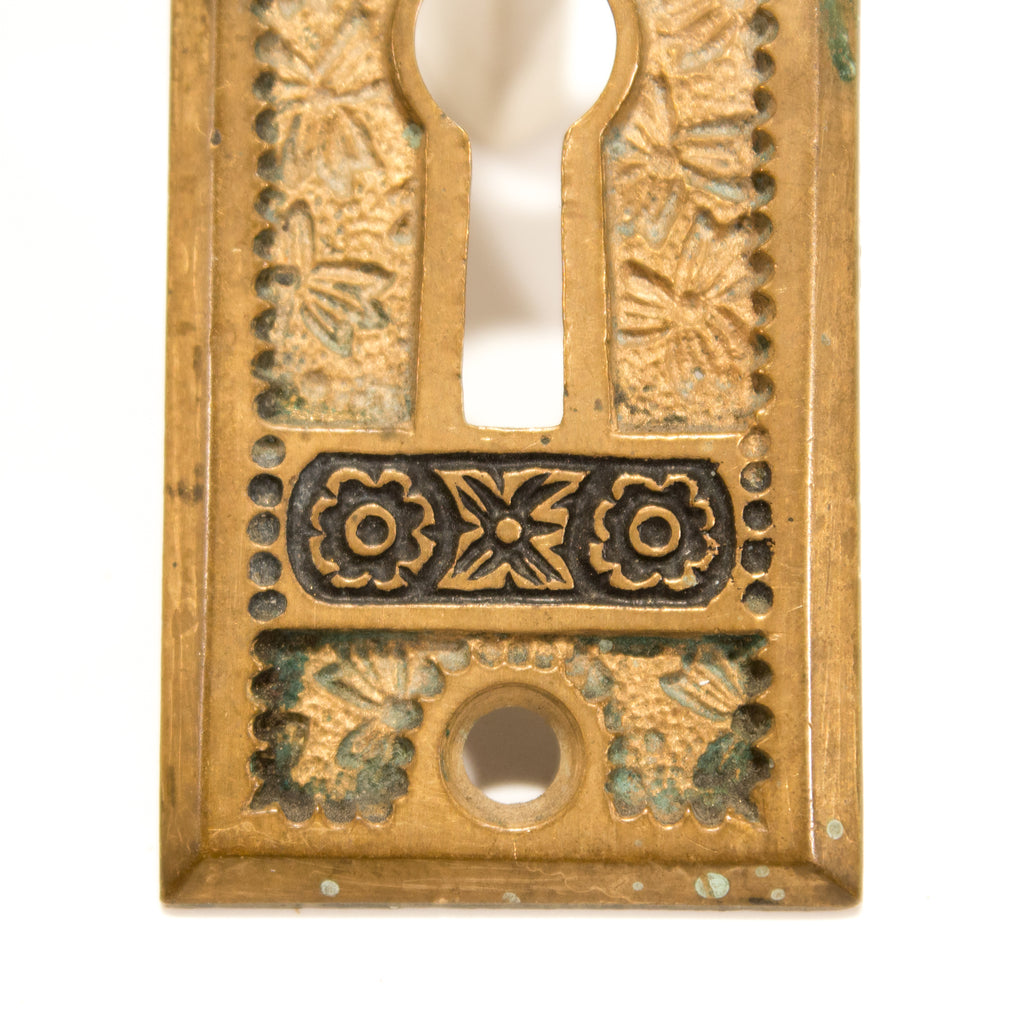 Bronze Victorian Keyhole Cover