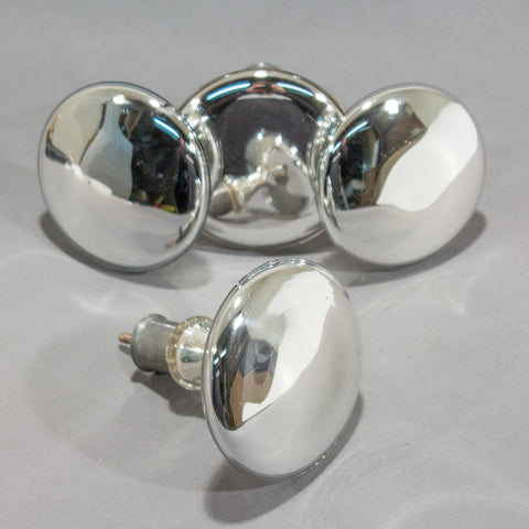 Mercury Glass Curtain Tie Backs Set of 4