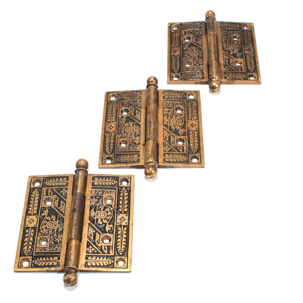 "Victorian Hinges 4 1/2"" Set of 3"