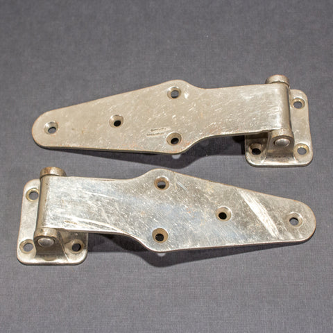 Large Icebox Refrigerator Hinges (pair)