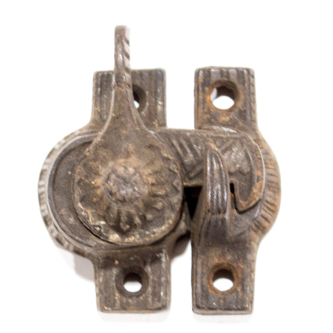 Victorian Iron Eagle Claw Window Locks