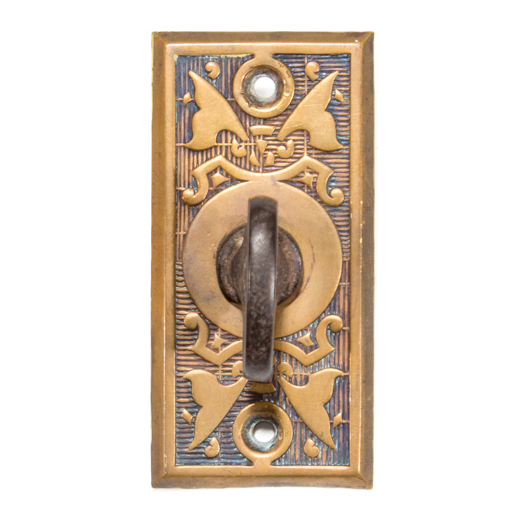 Antique Victorian Twist Mechanical Door Bell