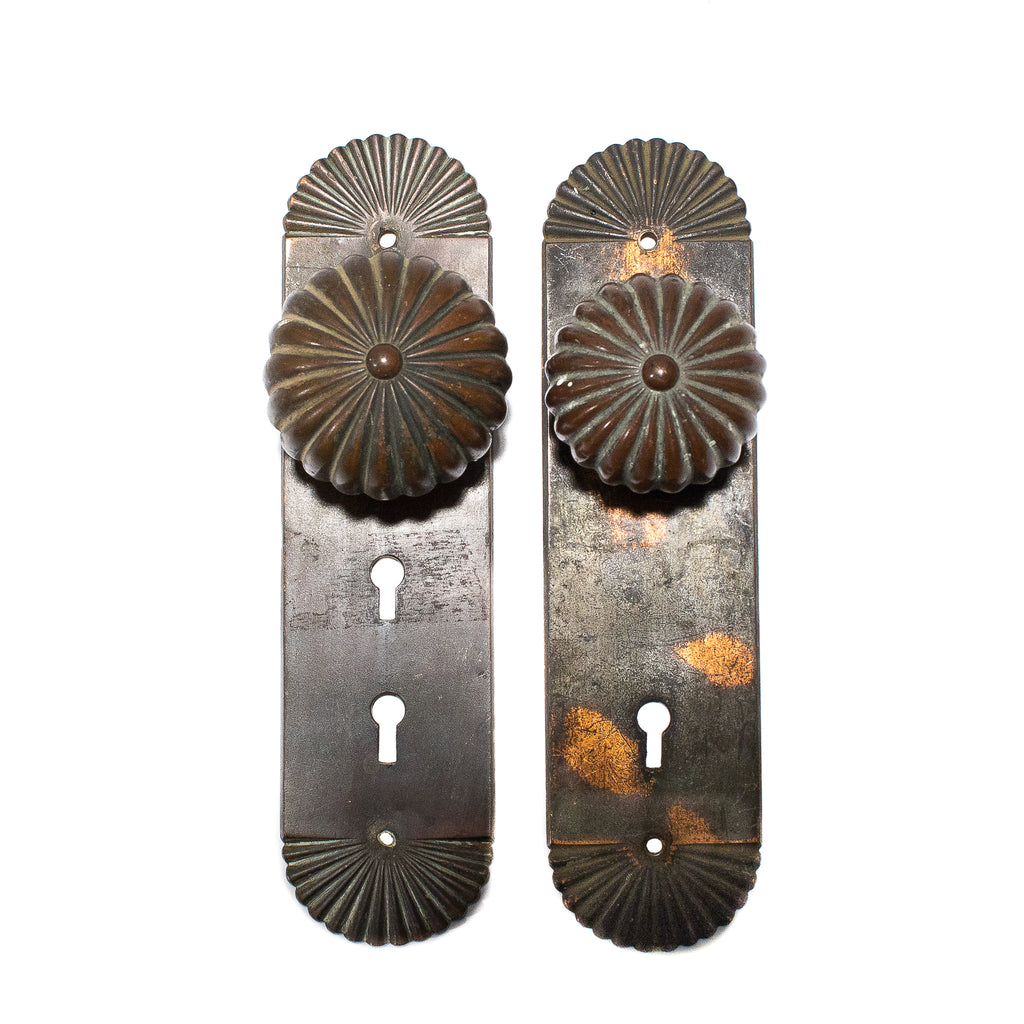 Bronze Craftsman Entry Door Set