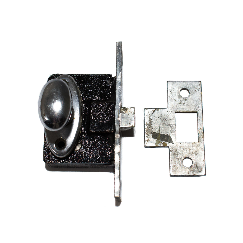 Small Russwin Chrome Mortise Lock Set