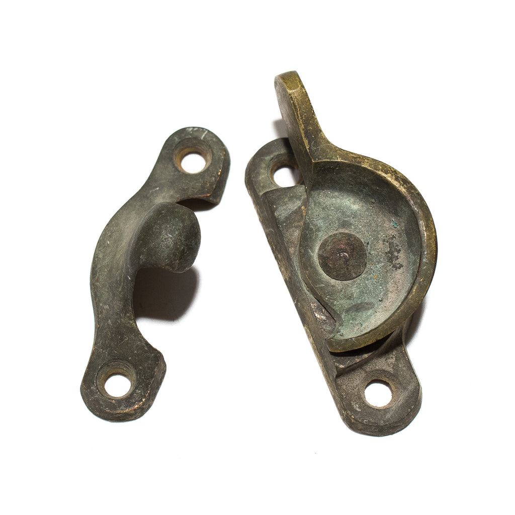 Bronze Craftsman Window Sash Locks