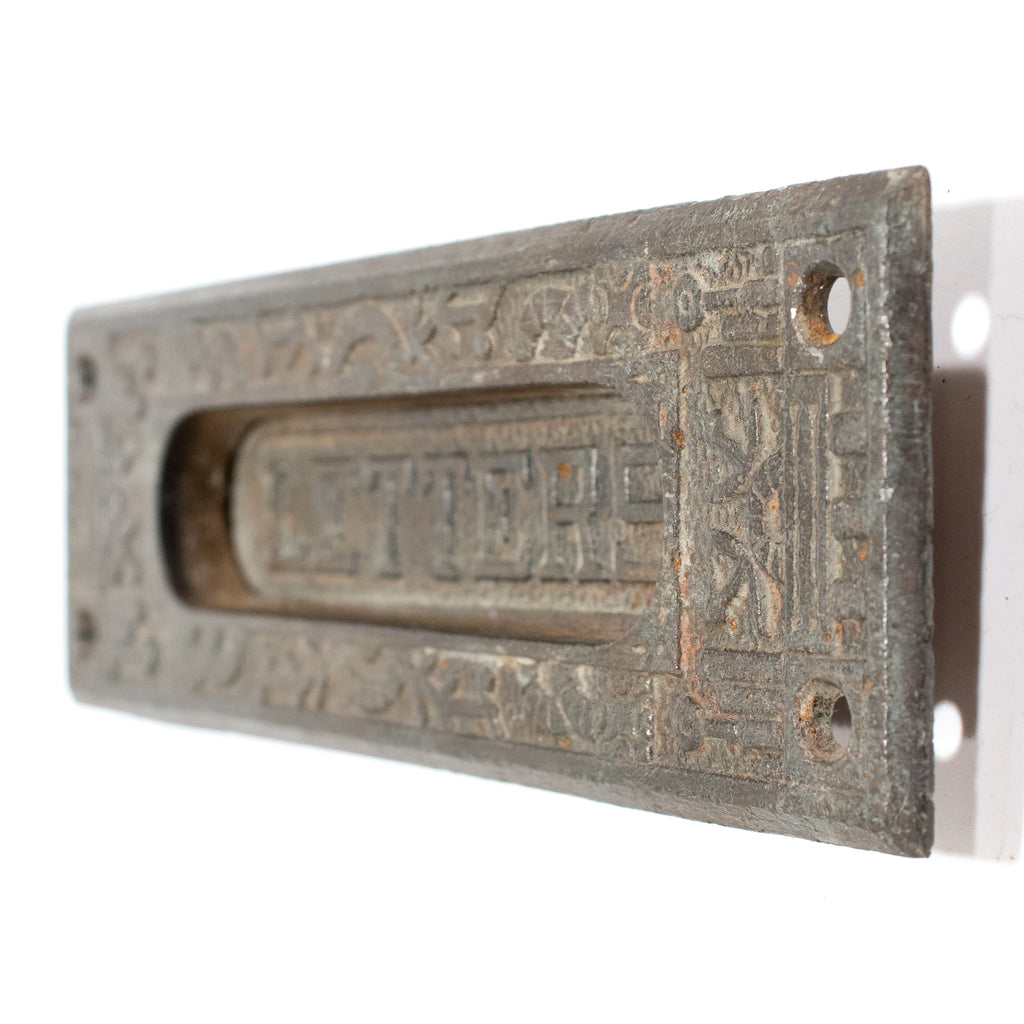 Iron Windsor Victorian Mail Slot