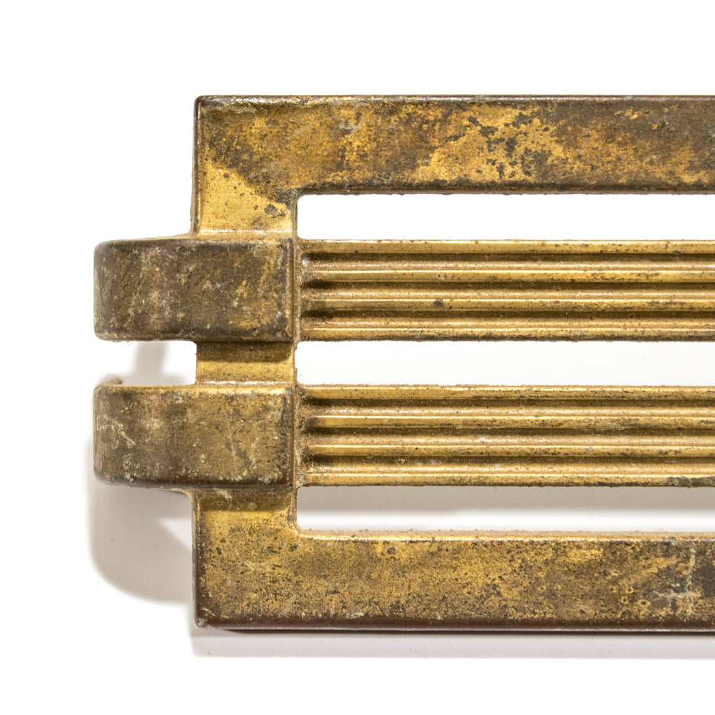 Large Deco 1940 Cabinet Drawer Pulls