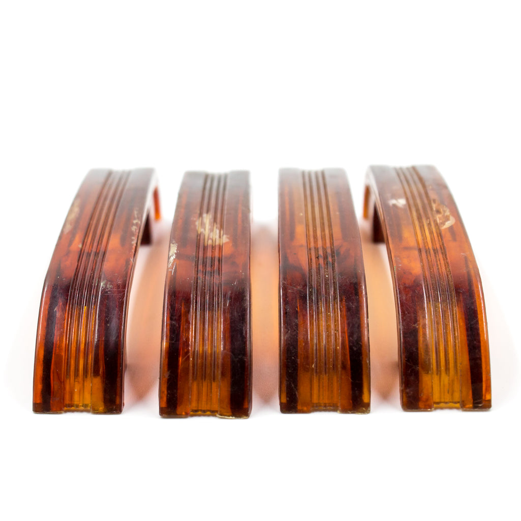 1930s Celluloid Deco Waterfall Drawer Pulls