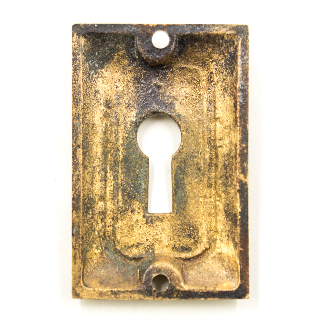 Egg and Dart Bronze Key Hole Cover