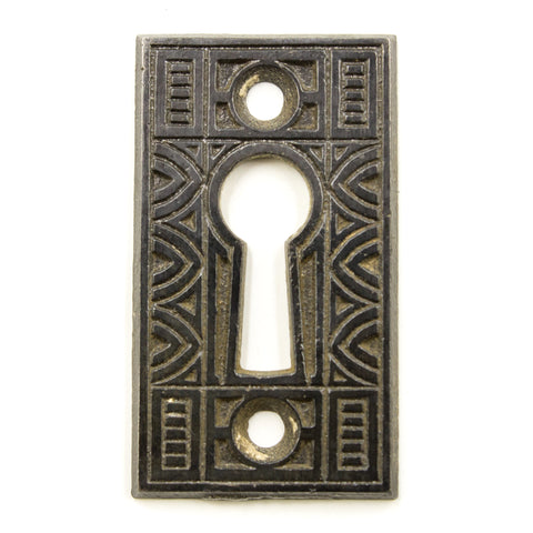 Victorian Iron Key Hole Cover