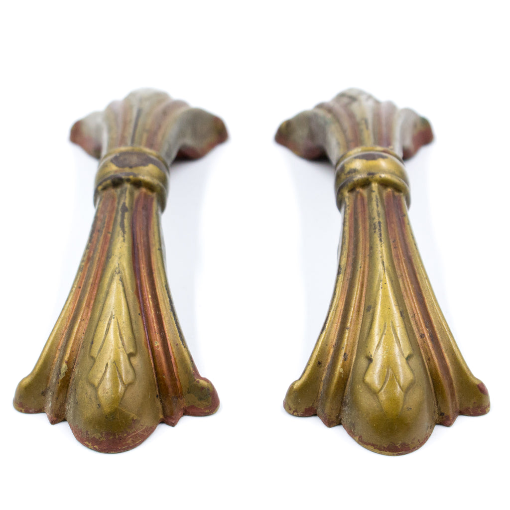 Waterfall Deco Bow Drawer Pulls