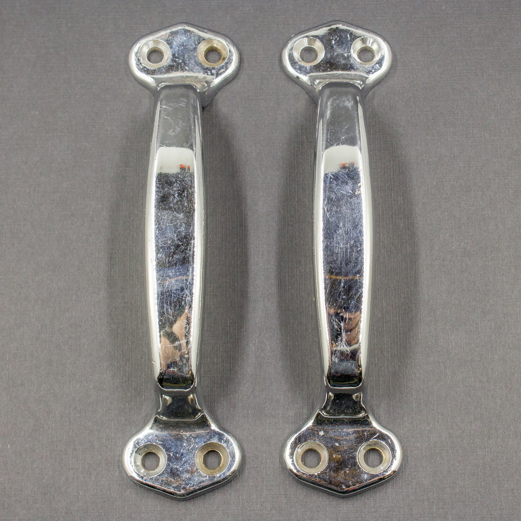 Large Chrome Door Pull Handles