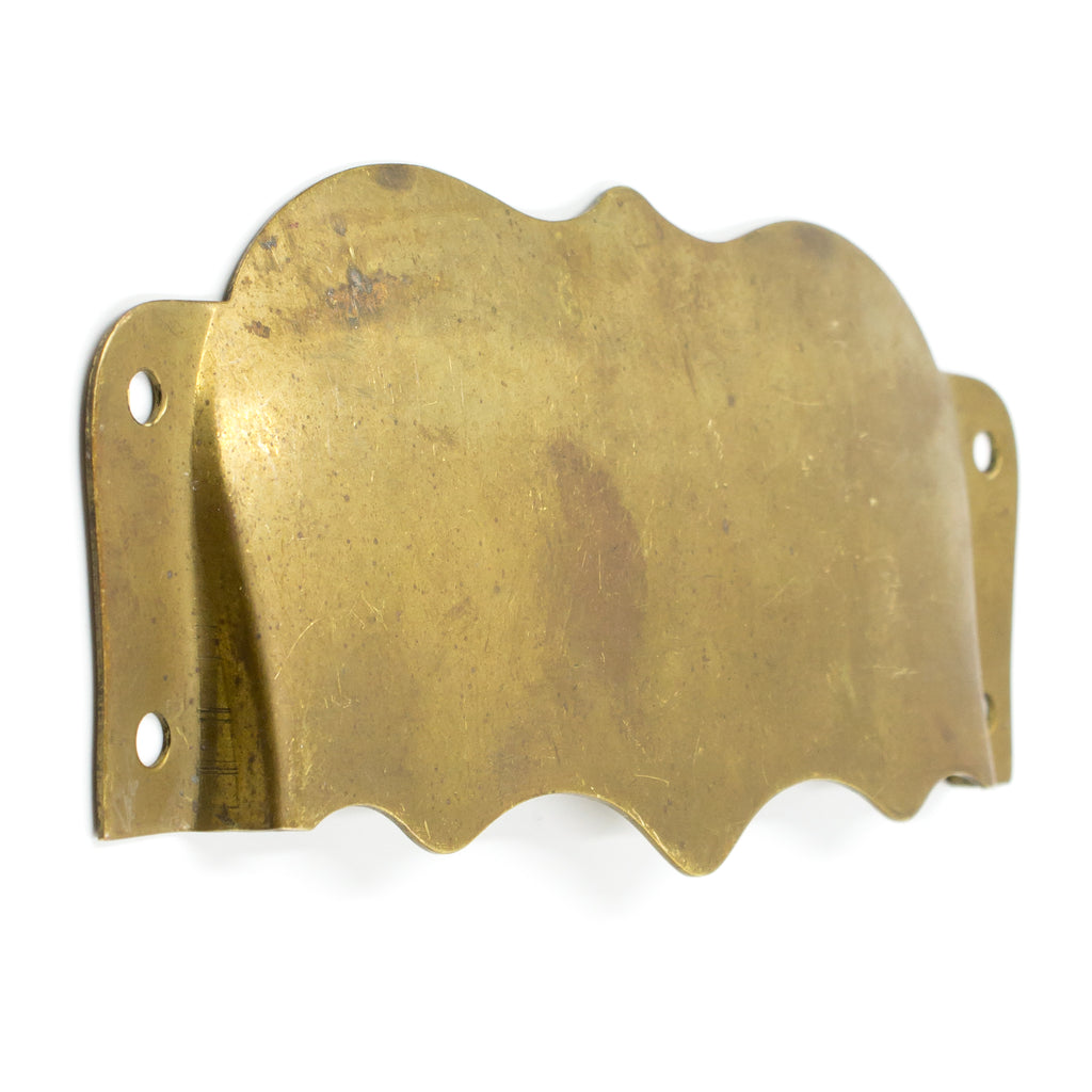 Interior Brass Mail Slot Cover