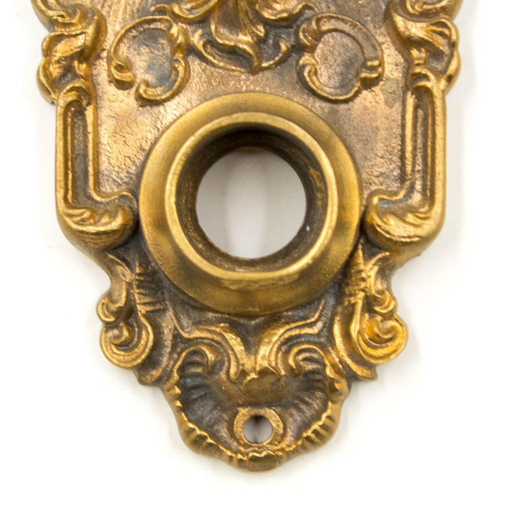 Bronze Ornate Small Back Plate Rosette