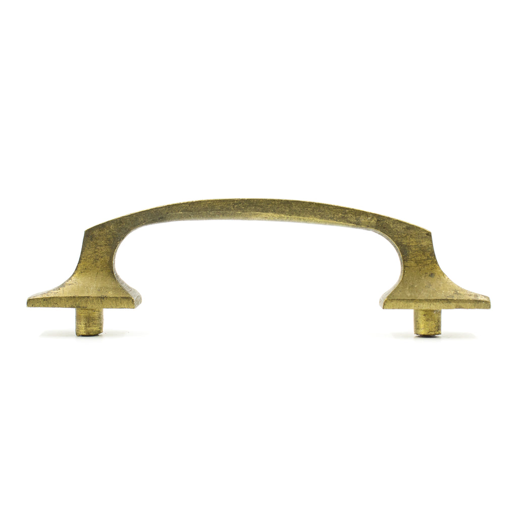 Angular Brass Mission Drawer Pulls