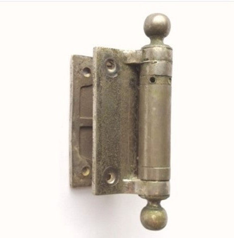Industrial Nickel Bathroom Stall Door Hinges