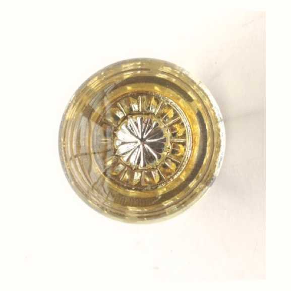 Round Deco Glass Door Knob