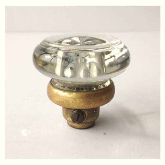 1940s Dexter Round Glass Doorknob