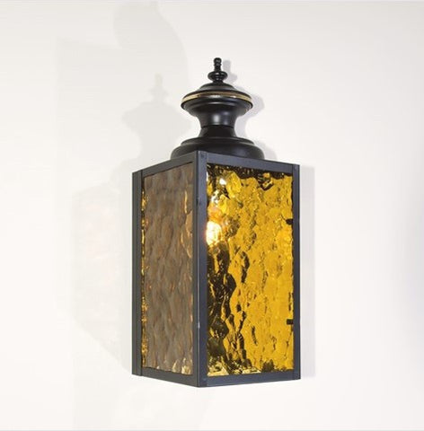 Bold 1970s Exterior Porch Wall Sconce