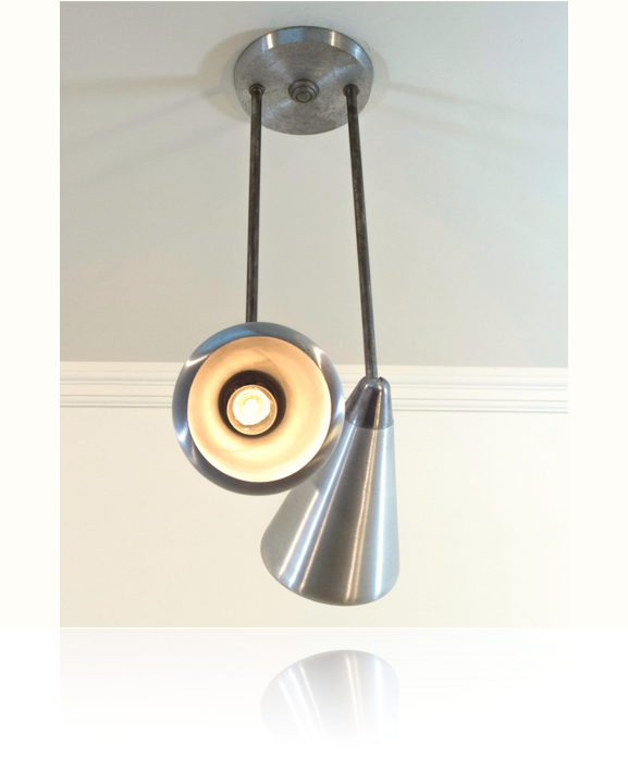 Fantastic Mid-Century Ceiling Light Fixture