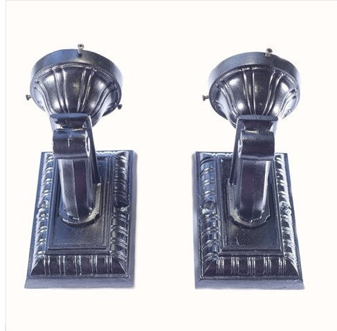 Exterior Lincoln 1920's Craftsman Style Sconces Pair (2)